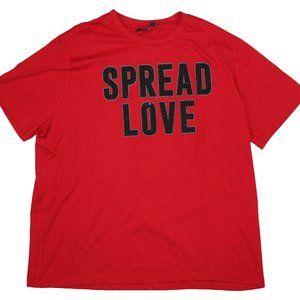 "Sean John Mock-Jewel ""SPREAD LOVE""Tee Shirt"
